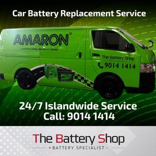 Reliable 24Hr Car Battery Replacement Service Singapore - Amaron Car Battery