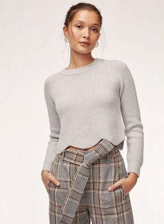 Wilfred Sardou Cropped Sweater - xxs