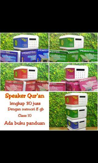 Speaker alquran digital 30 juz