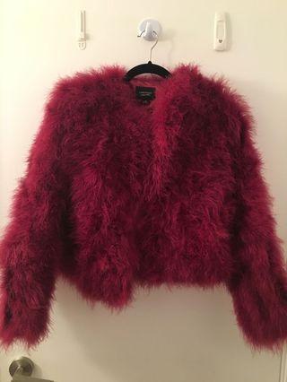 Brand new mylamarque feather jacket