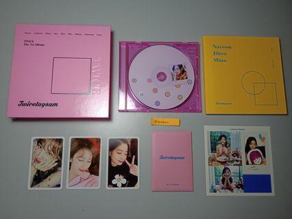 Twice - Twicetagram (A/Pink ver) (WTS)