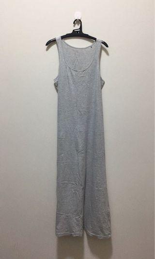 Lative 背心連身裙 深灰 淺灰(兩件一起賣)