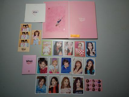 Twice - What Is Love? (A/Pink ver) (WTS)