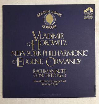 Vladimir Horowitz Rachmaninoff Concerto No.3 NYP Vinyl Record LP