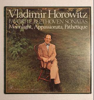Vladimir Horowitz Favorite Beethoven Sonatas Vinyl Record LP