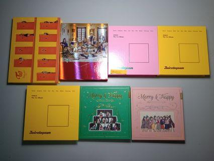 BTS & Twice Albums and Merchandises for Sale (WTS)