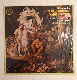 Mendelssohn A Midsummer Night's Dream Andre Previn LSO Vinyl Record LP