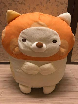 全新 日本角落生物貓咪玩偶景品