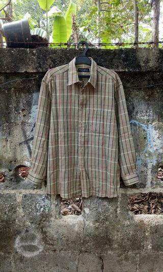 Kemeja yves saint laurent vintage shirt