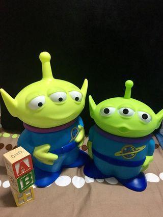 (收藏)三眼怪造型杯 玩具總動員4 威秀限定 泰國影城限定
