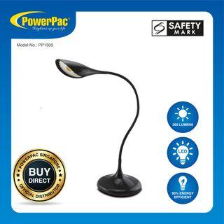 PowerPac LED Desk Lamp with Anti-Glare Protection (PP1305)