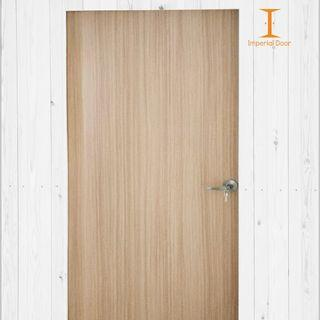 Natural Sand Finish Wooden Solid Laminate Bedroom Door