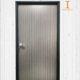 Driftwood Solid Laminate Bedroom Door