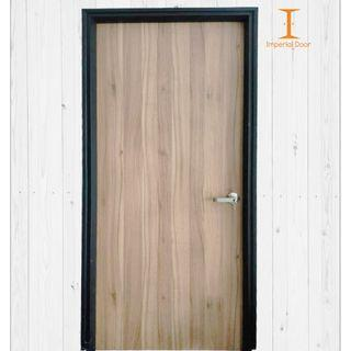 Sand Dune Smooth Finish Wooden Solid Laminate Bedroom Door