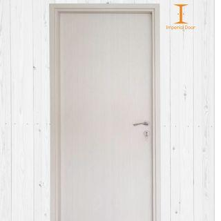 Champagne Wooden Solid Laminate Bedroom Door