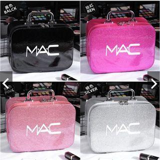 Women MAC MULTIPURPOSE Travel Cosmetic Bag STATIONERY STORAGE Portable CONTAINER