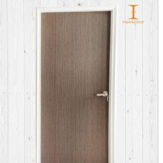 Sunbaked Wheat Wooden Solid Laminate Bedroom Door