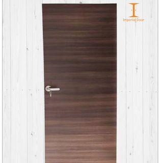 Gradient Chestnut Wooden Solid Laminate Bedroom Door
