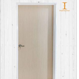 Soft Ash Wooden Solid Laminate Bedroom Door