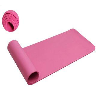 8mm Thick Pink Yoga Mat
