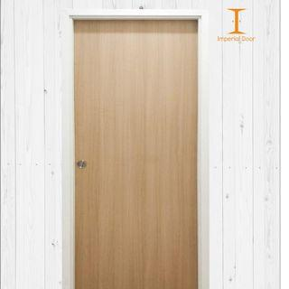 Cashew Wooden Solid Laminate Bedroom Door