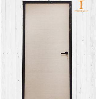 Peach Canvas Wooden Solid Laminate Bedroom Door