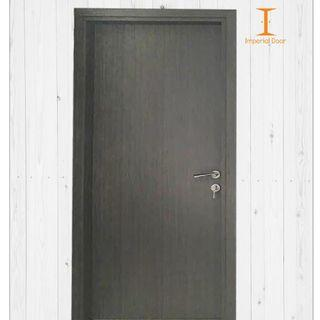 Grey Granite Wooden Solid Laminate Bedroom Door