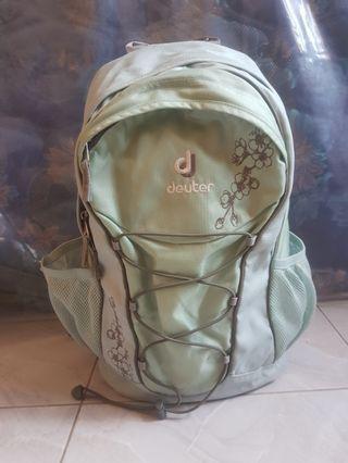 Tas Daypack Deuter Gogo 20L Green Flower