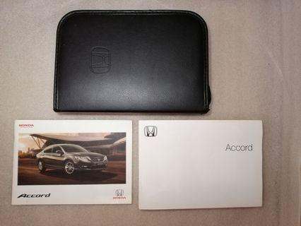 Honda accord T2A (2015) owner's manual