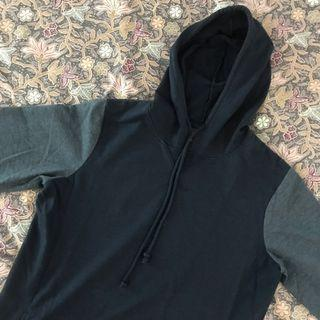 Navy Blue Cotton On Hoodie