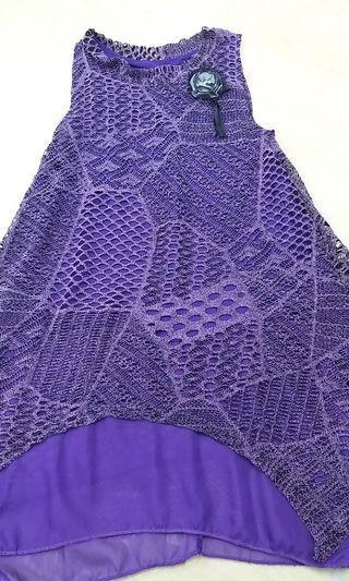 Pre❤ Dress purple