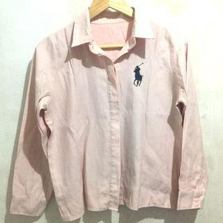 Polo baby pink shirt
