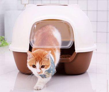 Cat sand litter box