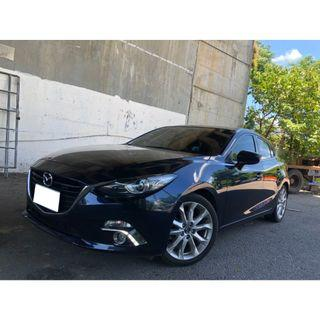 2015年 Mazda3 藍 2.0 5D