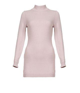 POPLOOK HEDWIG KNITTED TURTLENECK BLOUSE IN DUSTY PINK SIZE:S (RM27 FREE POSTAGE) NEW WITH TAG