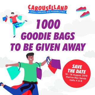 Goodie Bags For First 1000 Pax