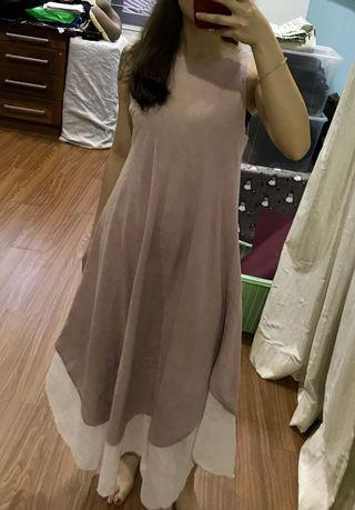 Thailand Earthy Tone Maxi Dress