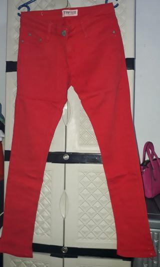 Celana Jeans Merah zara