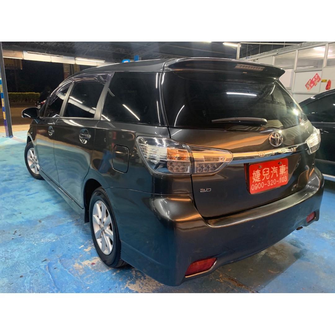 2009年尾 最新款二代Toyota Wish 2.0E  真心不騙只賣24.8萬