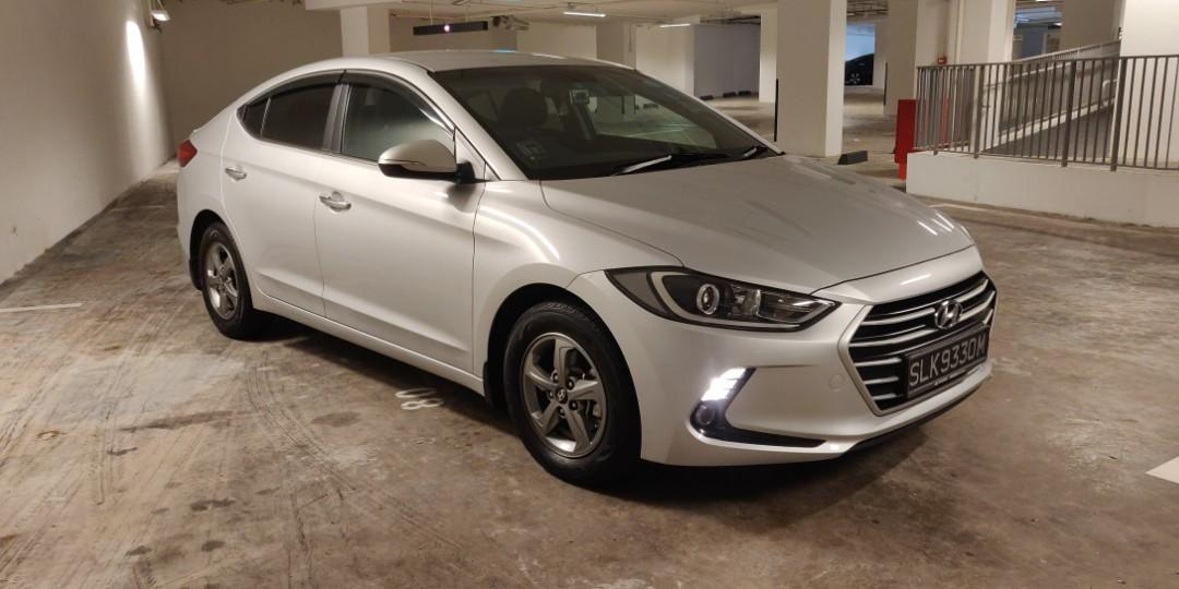 Grab This Special Deal! Hyundai Elantra 1.6 Auto 2017 for Immediate Lease!