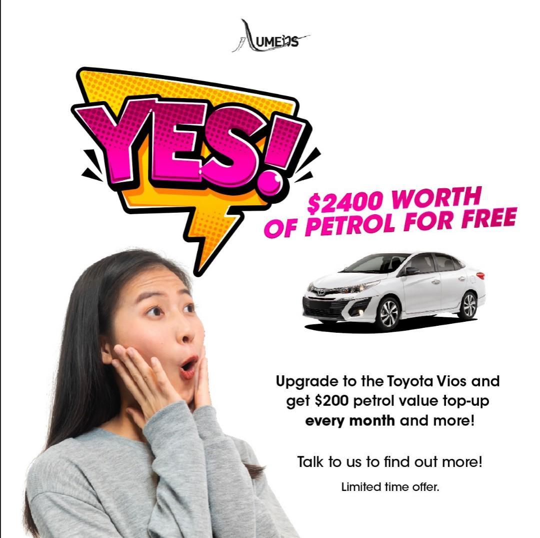2019! Brand new Toyota Vios 1.5 CVT