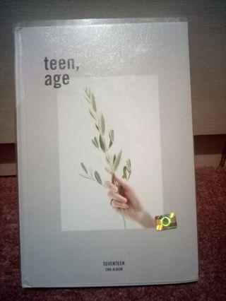 Seventeen Teen Age Album (White Ver.)
