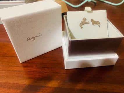 Aguin正版耳環-銀針