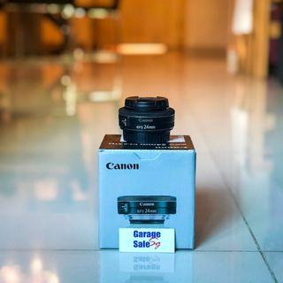 [RESERVED] USED~Canon lens~EFS 24mm f/2.8 STM