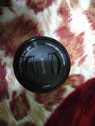 Sony E-mount 16-50mm f3-5