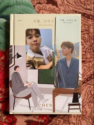 April, and A Flower Chen EXO album
