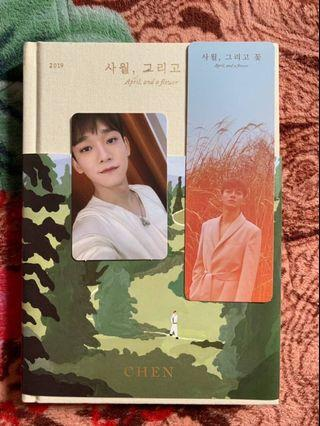 April, and A Flower EXO Chen Album