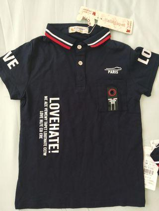 BNWT Polo Shirt size 90 dan 120 cm