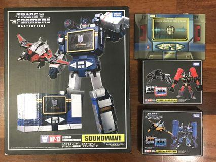 Transformers Masterpiece MP13 + MP15 + MP16