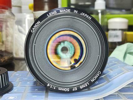 Canon EF 50mm f1.4